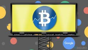 Google dice no a los anuncios de criptomonedas