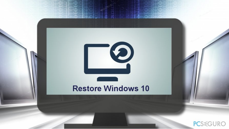 Ways to Restore Windows 10