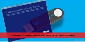 ¿Cómo solucionar el Error 0x80070456 - 0xA0019 de la Herramienta de Creación de Medios de Windows 10?