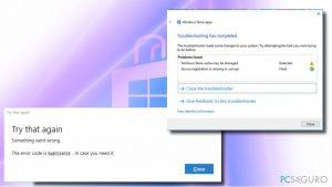 ¿Cómo solucionar el Error 0x80244018 de la Tienda Windows en Windows 10?