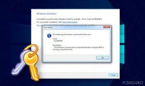 ¿Cómo solucionar la BIOS requiere una licencia pendiente error 0xC004F063?
