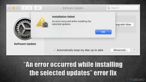 """¿Cómo solucionar el error de MacOS Big Sur """"Ha ocurrido un error mientras se instalaban las actualizaciones seleccionadas""""?"""