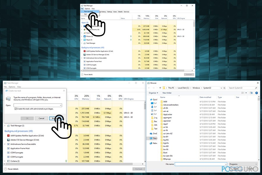 How to fix Desktop is unavailable after Windows 10 update version 1803?