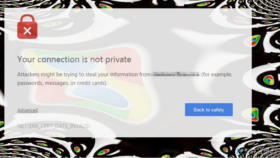 showing ERR_CERT_COMMON_NAME_INVALID error on Chrome