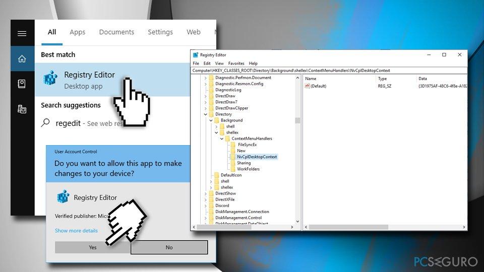 Nvidia registry keys