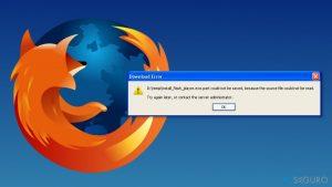 """¿Cómo solucionar el error """"El archivo fuente no pudo leerse"""" en Firefox?"""