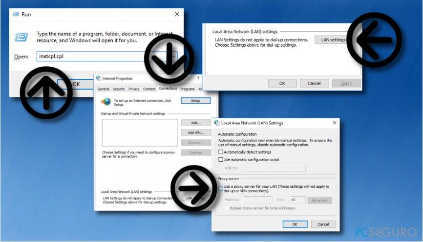 Take care of 0x803F8001 error message