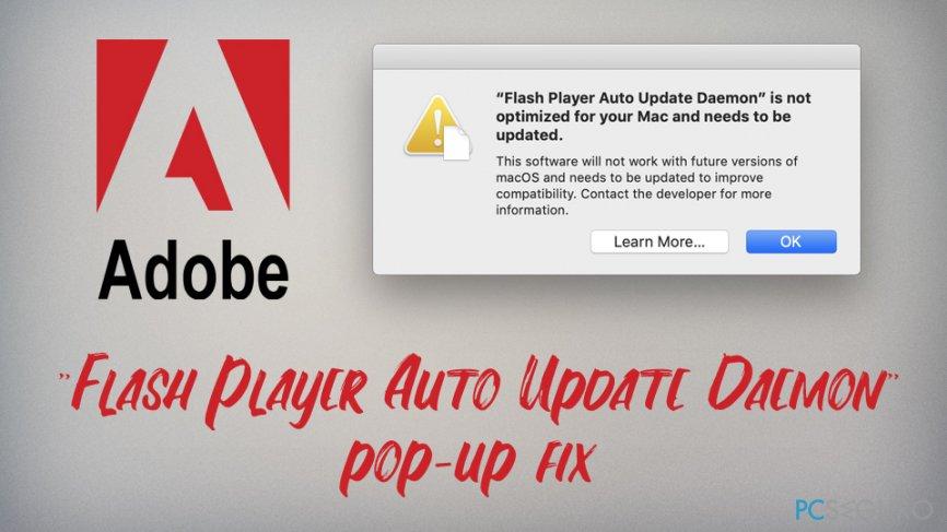 """Flash Player Auto Update Daemon"" fix"
