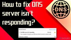 ¿Cómo solucionar el Servidor DNS no responde?