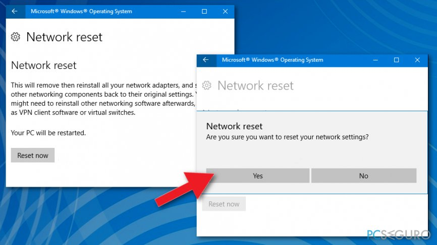 How to fix «There might be a problem with the driver for the Ethernet adapter» error on Windows?