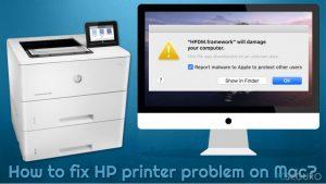 ¿Cómo solucionar un problema con la impresora HP en Mac?