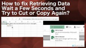 """¿Cómo solucionar """"Recuperación de datos. Espere unos segundos e intente cortar o copiar de nuevo""""?"""