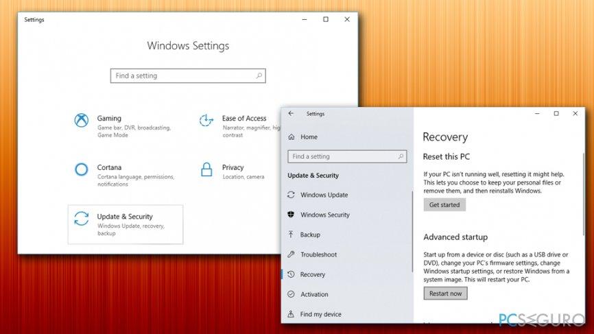 Run Windows in Safe Mode
