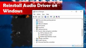 ¿Cómo reinstalar los controladores de audio en Windows 10?