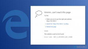 ¿Cómo solucionar el error Fix INET_E_RESOURCE_NOT_FOUND en Windows 10?