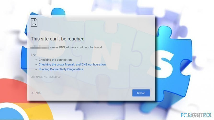 How to Fix «Server DNS address could not be found» Error on Google Chrome?