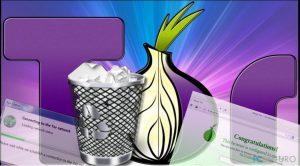 ¿Cómo desinstalar el navegador Tor?