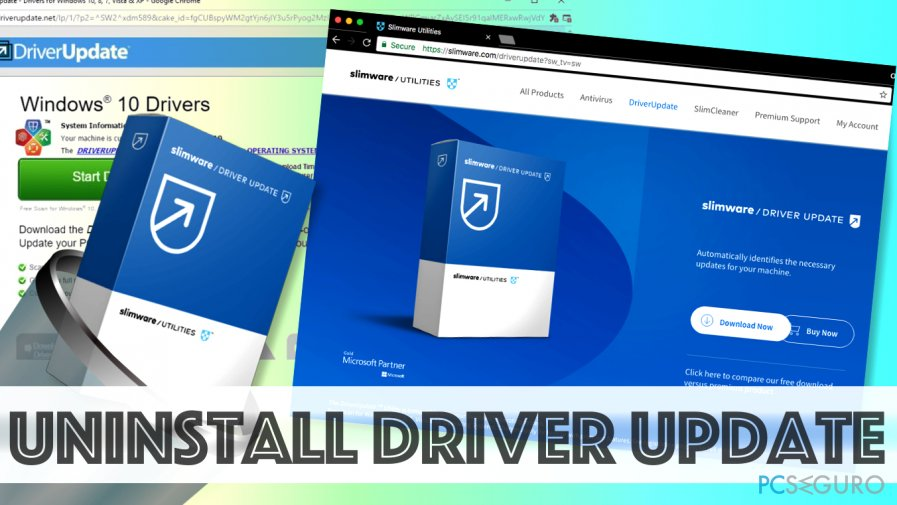 Remove Driver Updater by SlimWare Utilities