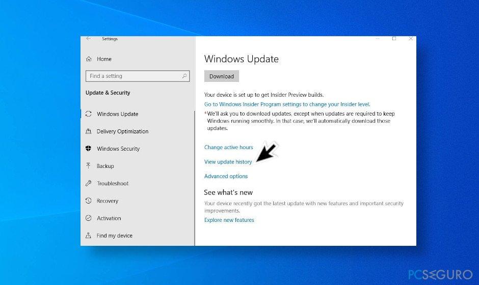 Delete the latest Windows 10 updates to fix printer problems