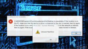 """¿Cómo solucionar el error """"Unknown Hard Error"""" en Windows 10?"""