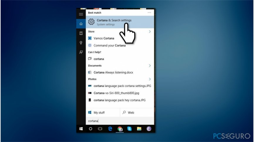 How to stop Cortana from popping up randomly?
