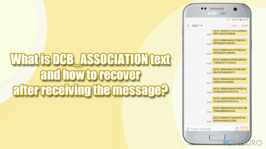 DCB_ASSOCIATION what is it?