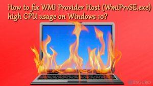 ¿Cómo solucionar el alto uso del CPU por parte de WMI Provider Host (WmiPrvSE.exe) en Windows 10?
